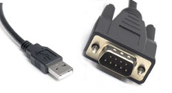 NTS100 adapter USB to RS232